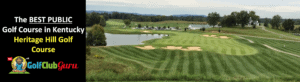 the best public golf course in kentucky heritage hill golf course