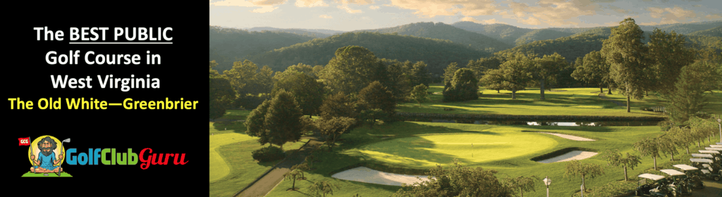 the old white greenbrier golf course public tee times prices