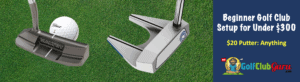 used golf putter under 20