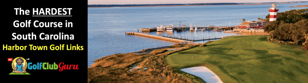 harbor town golf links golf course SC
