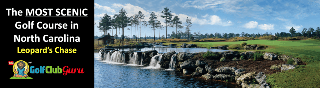 the most scenic beautiful golf course in north carolina NC