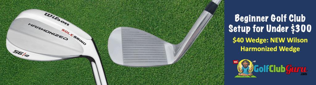 the best value golf wedge for beginner