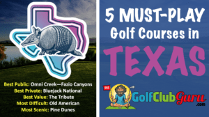 the best golf courses in texas top 5