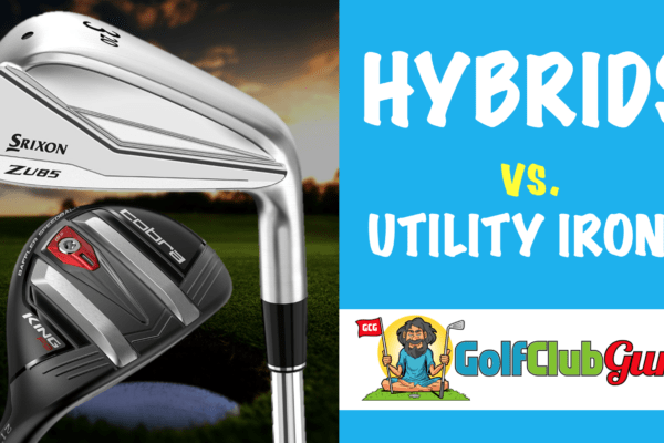 should i play hybrid or utility driving iron golf bag