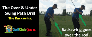 alignment rod in the ground drill to stop pulling club too far inside