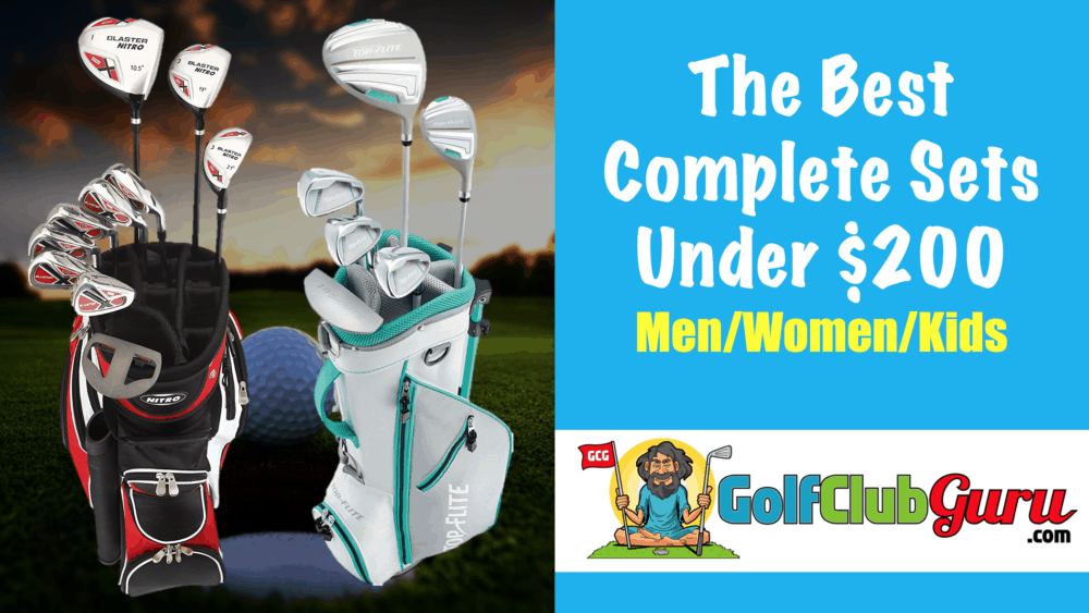 the best golf club sets under 200