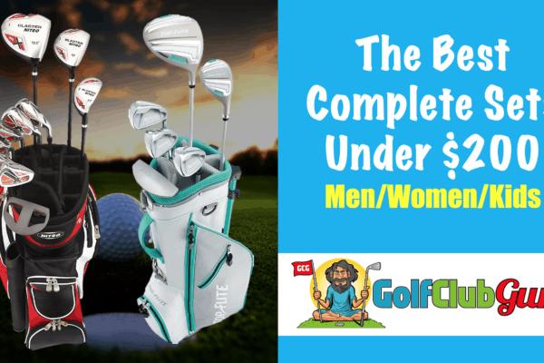 the best golf club sets under 200