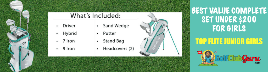 what golf clubs should a girl buy 2020