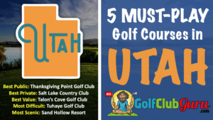 must play public golf courses in utah