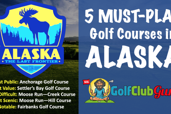 the best public golf courses in alaska
