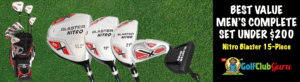 the best golf club complete full sets for men under $200
