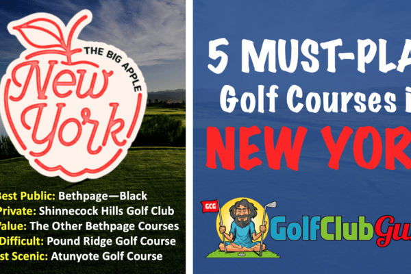 the nicest public private golf courses in new york