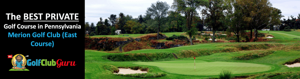 merion golf club east course tee times pricing pictures