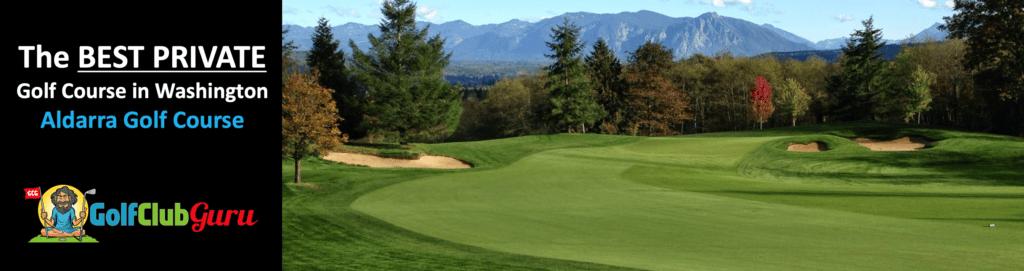 aldarra golf course tee times review in Sammamish washington WA