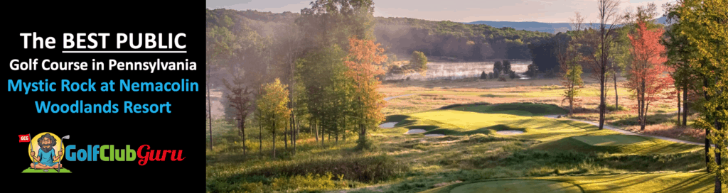 Mystic rock at nemacolin woodlands resort golf course tee times pictures pricing
