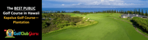 the best public golf course that you can play in hawaii kapalua plantation pictures