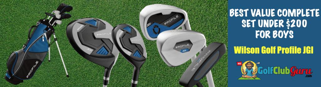 golf clubs for boys