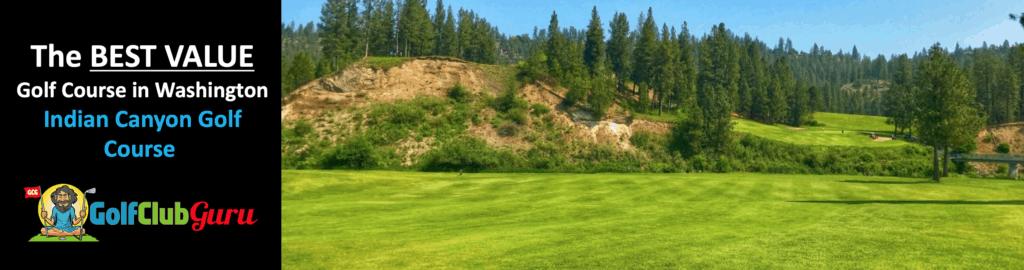 indian canyon golf course in spokane WA