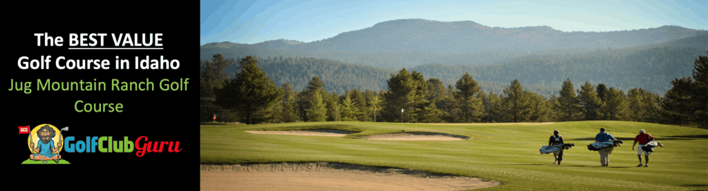 jug mountain golf course review in Mccall