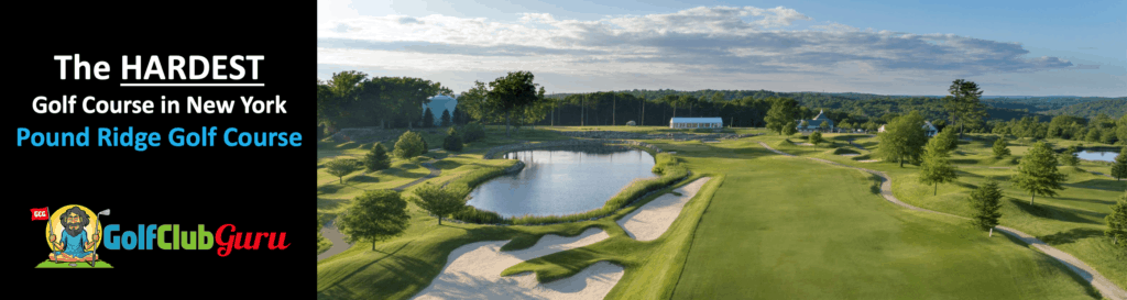 the most difficult golf course pound ridge golf course review tee times pictures