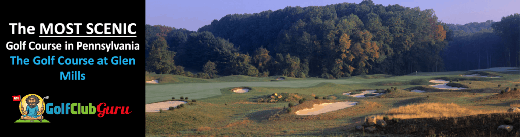 the golf course at glen mills tee times review pictures