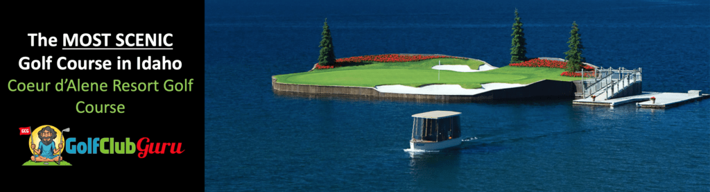 the most beautiful golf course in idaho review tee times
