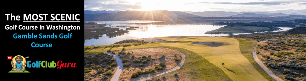 gamble sands golf course review in brewster washington
