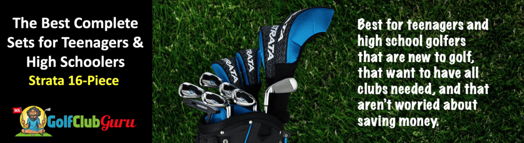 the best full set of golf clubs for teenager