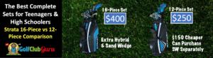 12 vs 16 strata complete golf set comparison difference
