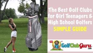 golf club set for girl teenager high school golfers