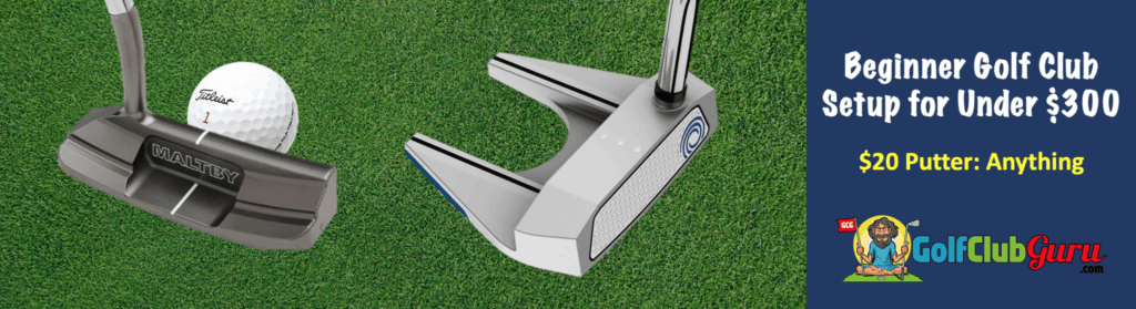 golf putter for young male teenager golfer height age