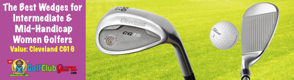 the best bargain budget wedge for female lady golfers