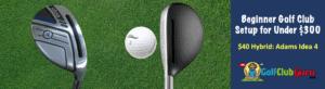 hybrid golf club under $40