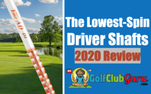 the best longest straightest low spin driver shafts 2020
