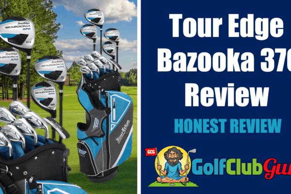 tour edge bazooka 370 golf club pictures pros cons price pictures
