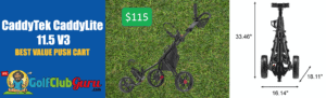 the best value push cart under 100 150