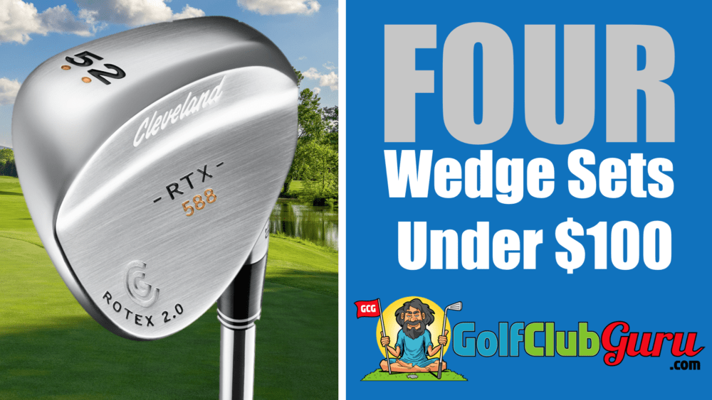 four sets of wedges best value budget bargain