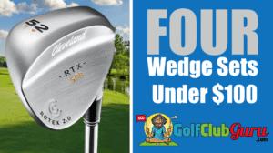 four sets of wedges best value budget bargain