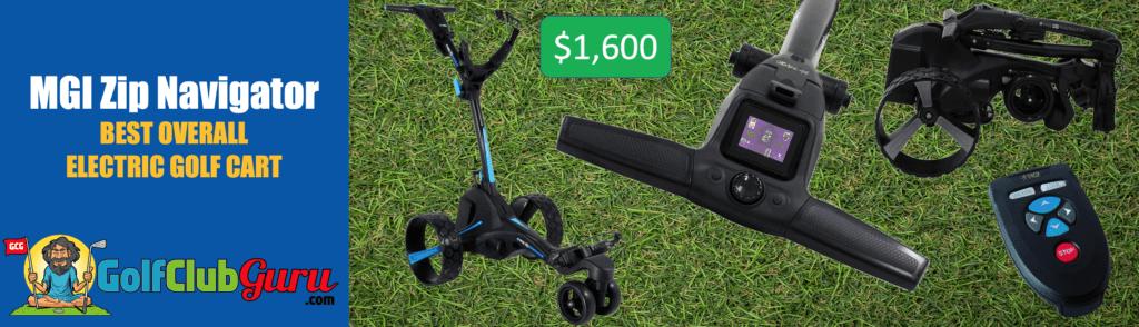 mgi zip quad navigator best electric golf cart