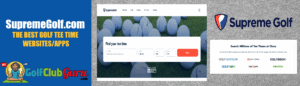 how to find discounted tee times golf supremegolf.com supreme golf review