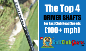 low spin longest driver shafts for fast club head speeds