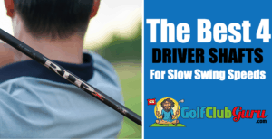 the longest driver shafts for slower swing speeds 90mph