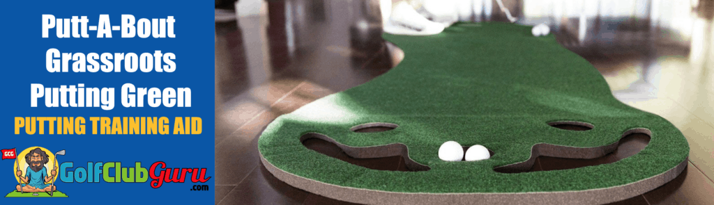 practice putting green best value putt-a-bout grassroots review
