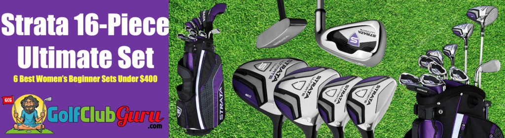 the best golf clubs for women under $400