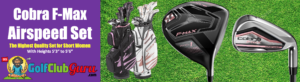 high quality set of clubs for average height lady beginner golfer