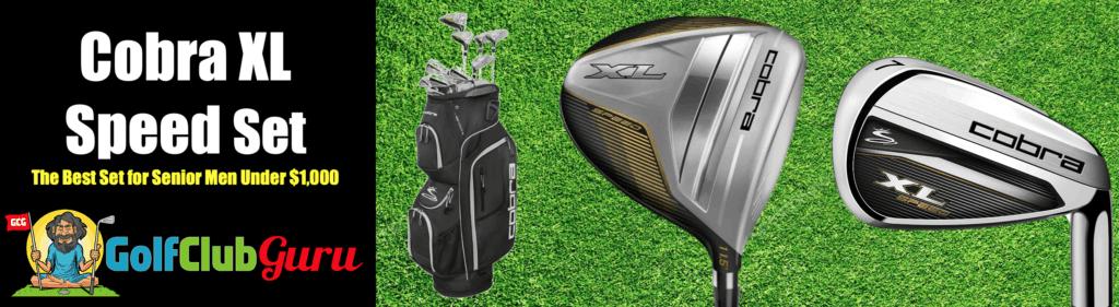 the best golf club complete set full for older men under $1,000