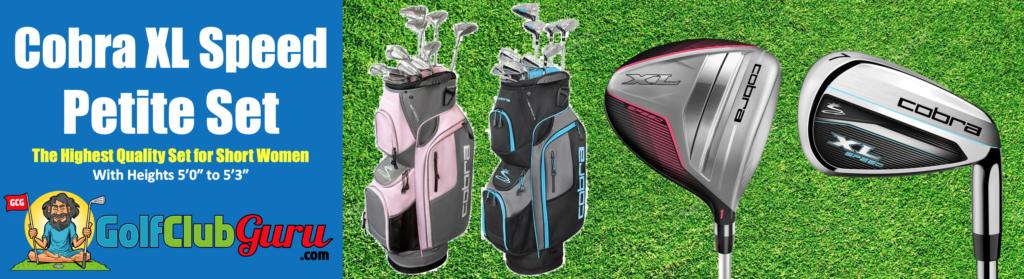 super short petite golf clubs for women