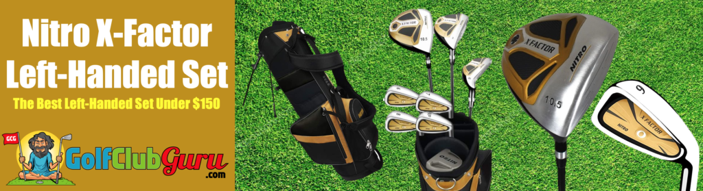 best golf club set under $150 for lefties