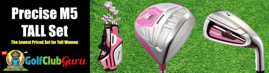 the best golf clubs for tall women over 6 feet tall
