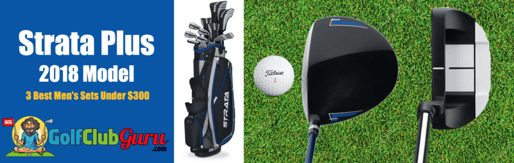 strata plus mens golf clubs review pros cons price pictures